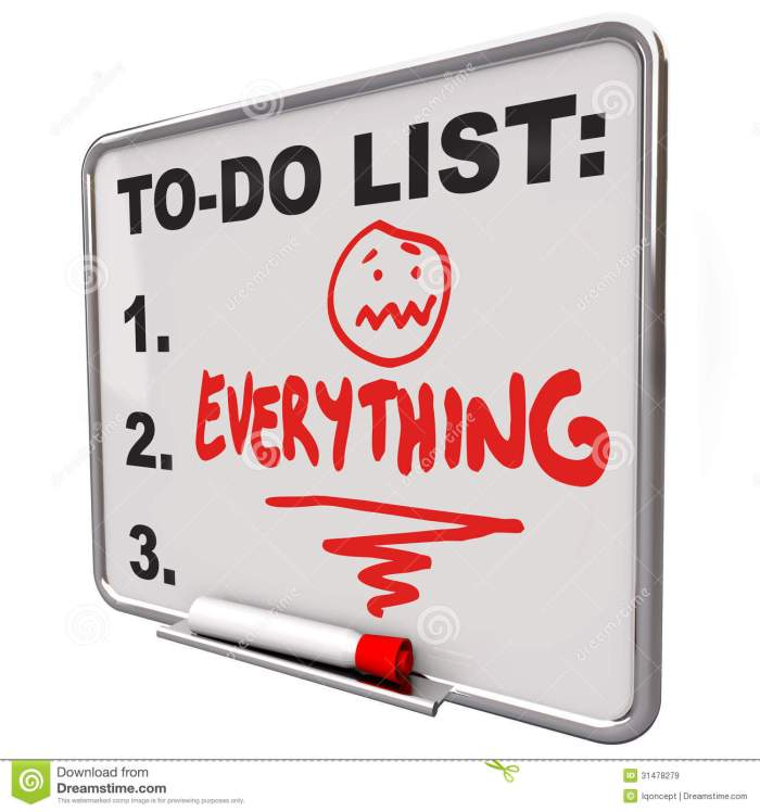to-do-list-everything-dry-erase-board-overworked-stress-word-remind-you-your-tasks-priorities-goals-31478279