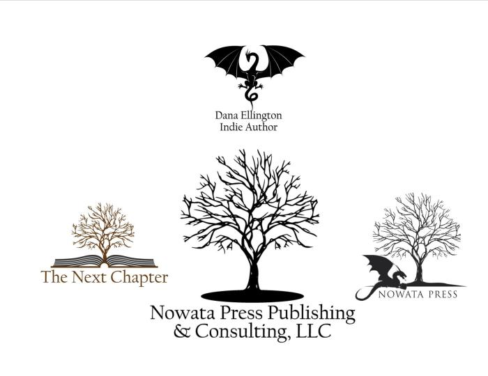 Nowata Press Publishing and Consulting LLC Family of Logos
